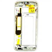 Aro Lateral Gabinete Samsung S7 Edge G935 Dourado Original Retirado