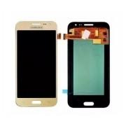 Frontal Samsung J2 J200 Dourado com Regulagem Brilho