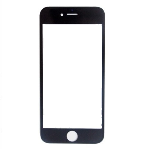 Lente de Vidro sem Touch Apple Iphone 6 Preto
