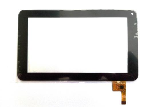 Tela Touch Tablet Tectoy Acqua Tt1705 Tt1710 7 Polegadas Preto
