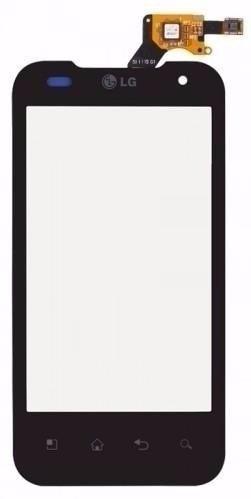 Tela Touch LG Optimus 2x P990 Preto - 1ª Linha