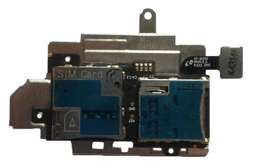 Cabo Flex Slot Sim Card Chip Cartão Memoria Samsung S3 I9300