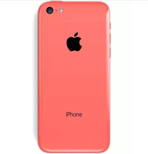 Chassi Aro Carcaça Midi Frame Apple Iphone 5c Rosa Pink
