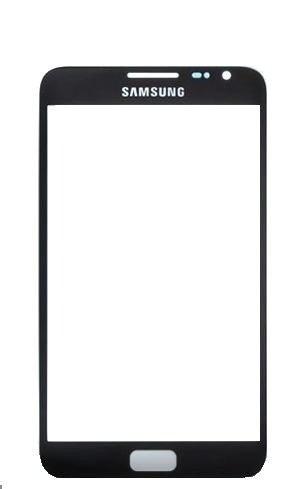 Tela Vidro Lente Samsung Galaxy Note 1 N7000 Preto