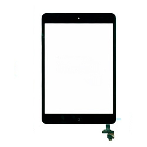Tela Touch Apple Ipad Mini 3 Com Botao Home Cola 3m Preto