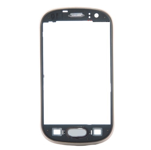 Aro Frontal Lateral Samsung Galaxy Fame S6810 S6812 Dourado