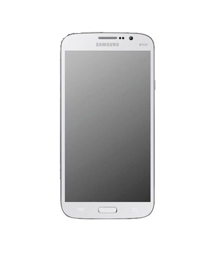 Display Lcd Com Tela Touch e Aro Lateral Samsung Galaxy Mega Gt-I9152 Branco