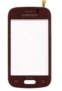 Tela Touch Samsung Galaxy Y Duos Tv Gt-s6313 Vinho Vermelho- 1 Linha