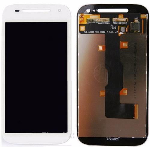 Frontal Touch e Lcd Moto E2  Xt1523 Xt1514 Branco