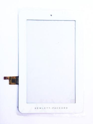 Tela Touch Hp 1201br 7.1 Polegadas Branco Pronta Entrega