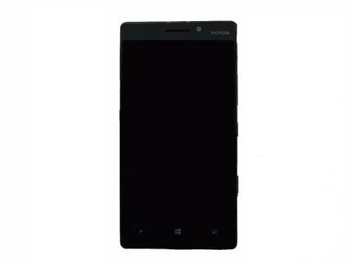 Frontal Nokia Lumia 930 N930 Preto com Aro