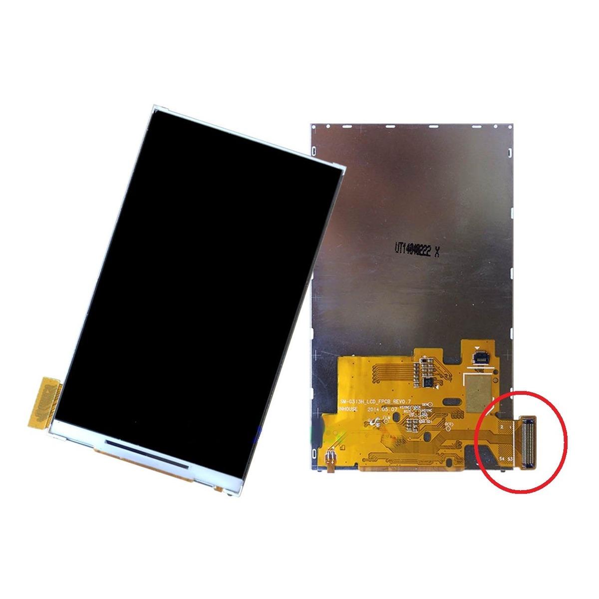 Lcd Display Samsung Sm-G313 G313h Flex Largo - 1ª Linha