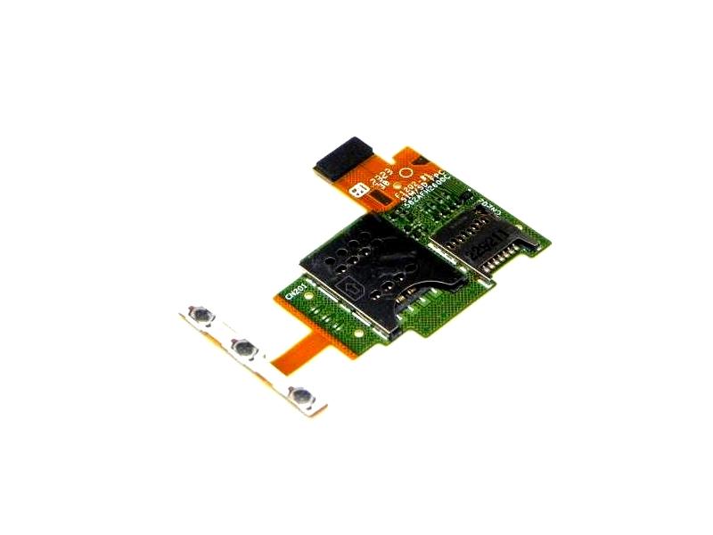 Placa Do Conector Sim Card E Memoria Sony Xperia J St26i