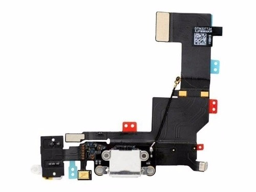 FLEX CONECTOR CARGA IPHONE 5S BRANCO
