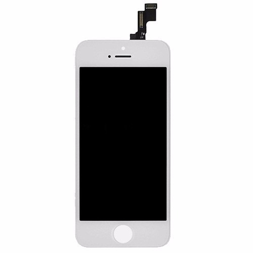 Display Lcd Com Tela Touch Apple Iphone 5s Branco AAA