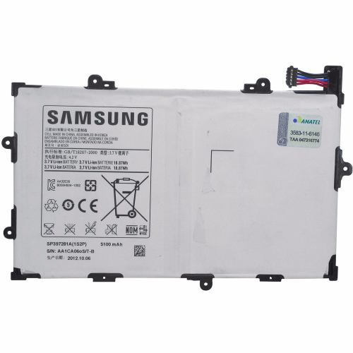 Bateria Samsung Tab 2 7.7´ Gt-P6800L 5000 Mah AAA