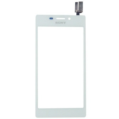 Tela Touch Sony Xperia M2 D2302 D2303 D2305 D2306 Branco AAA