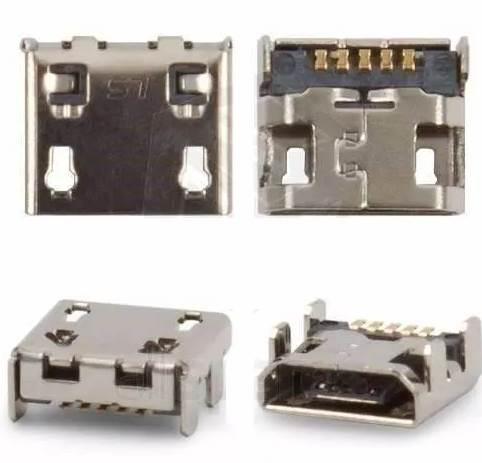 Conector de Carga Lg E470 E467 E445 Padrao V8 (Universal)