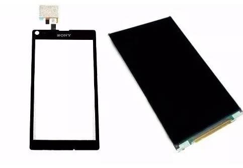 Kit Touch e Lcd Sony Xperia L C2104 Preto
