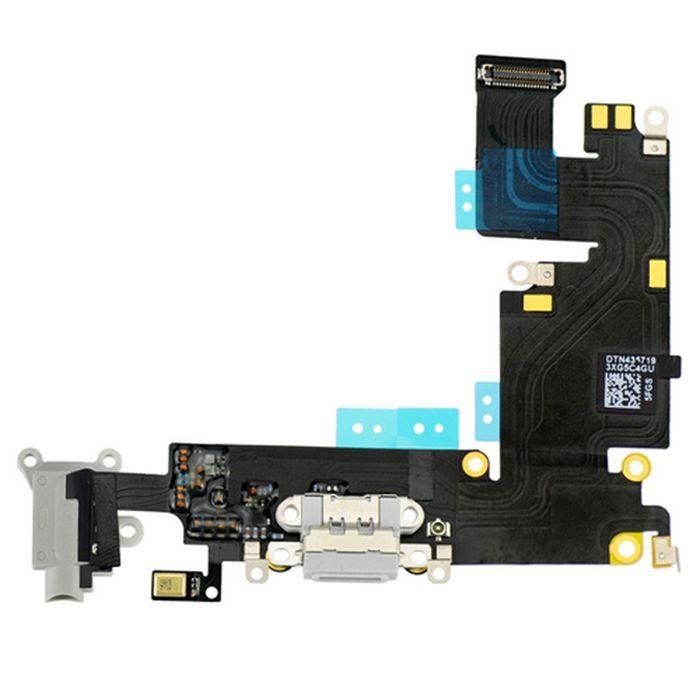 Flex Conector Carga iPhone 6 Plus 5.5 Branco
