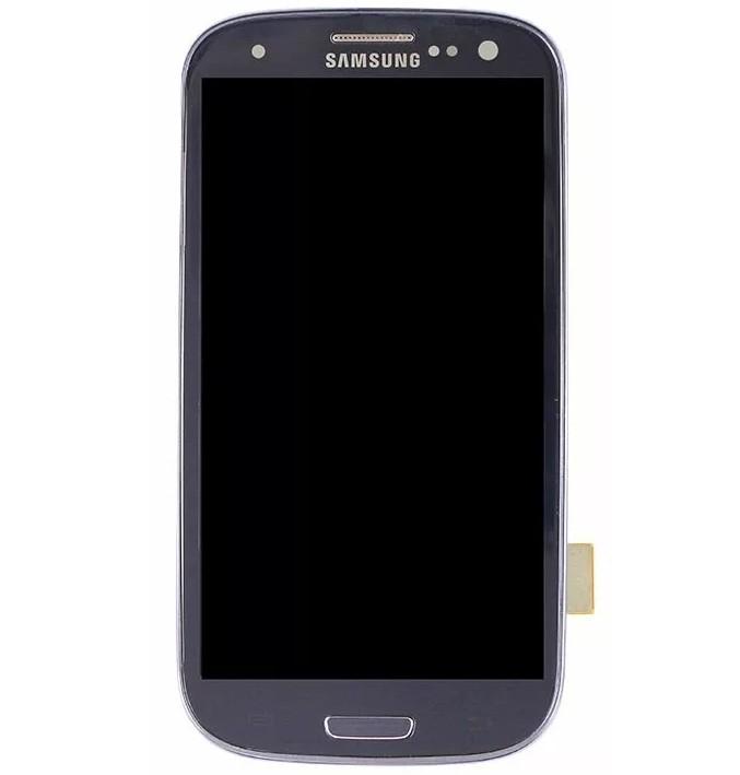 Frontal Touch e Lcd Samsung Galaxy S3 I9300 Preto