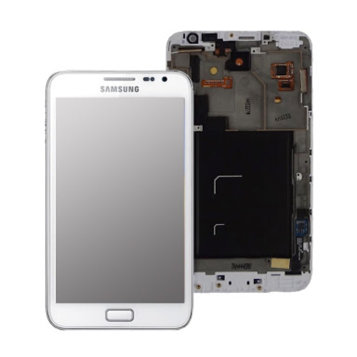 Frontal Samsung Note 1 N7000 Branco