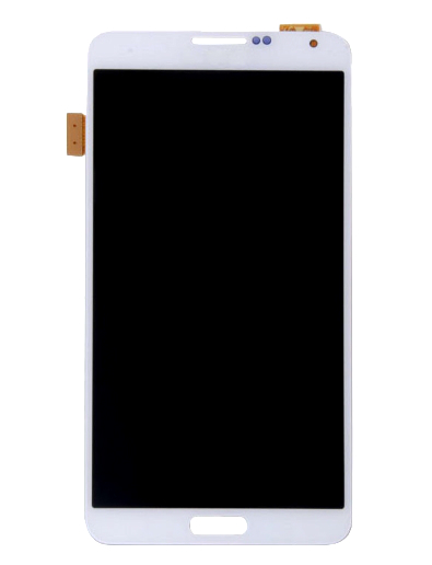 Frontal Samsung Galaxy Note 3  N9000 N900 N9005 Branco Sem Aro
