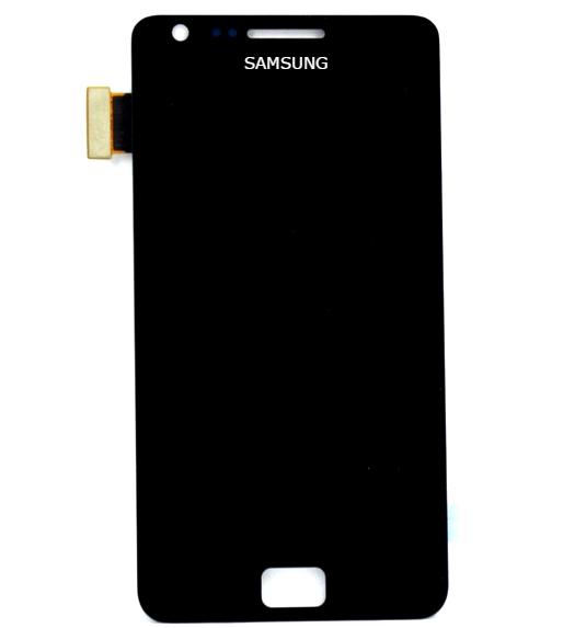 Frontal Samsung S2 Gt-i9100L Preto