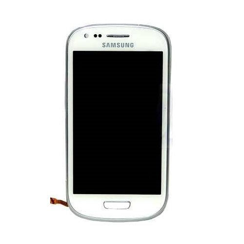 Frontal Samsung Galaxy S3 Mini Gt-I8190/ i8200 Branco