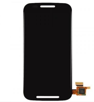 Frontal Touch e Lcd Motorola Moto E XT1022 XT1025 Preto Com Aro