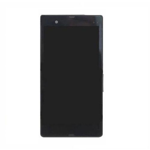 Frontal Touch com Lcd Sony Xperia Z C6602 C6603 C6606 L36h Preto