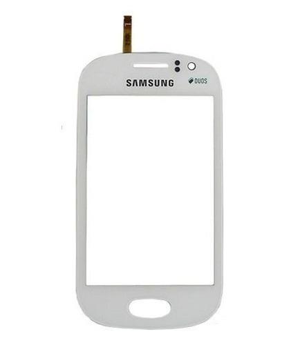 Tela Touch Samsung Galaxy Fame S6812 Branco