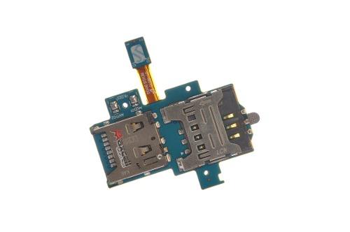 Leitor Conector Chip Sim Card E Micro Sd Flex S2 Lite I9070