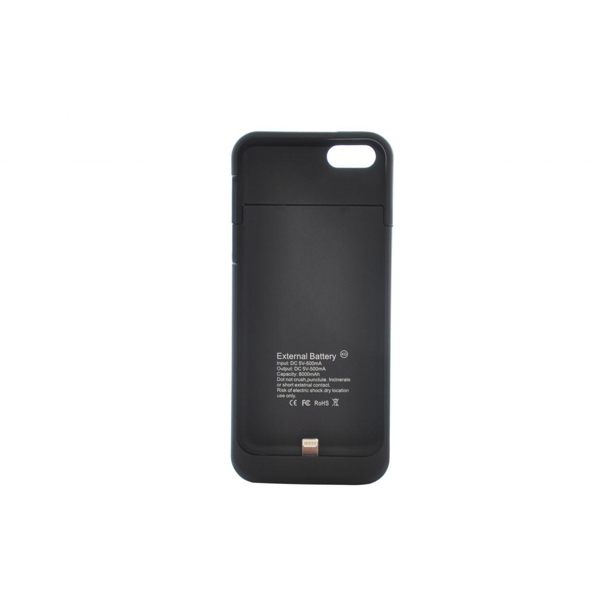 Capa Carregador Bateria Extra Apple Iphone 5 5s 2200 mAh