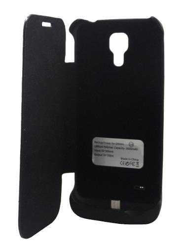 Capa Carregador Bateria Extra Samsung Galaxy S4 Mini I9190 I9192
