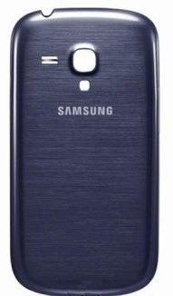 Tampa Bateria Traseira Samsung Galaxy S3 Mini I8190 Azul
