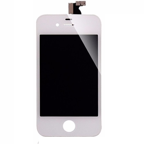 Display Lcd Com Tela Touch Apple Iphone 4 Branco AAA