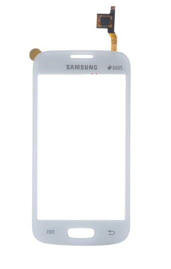 Touch Samsung s7260 s7262 Branco 1 Linha