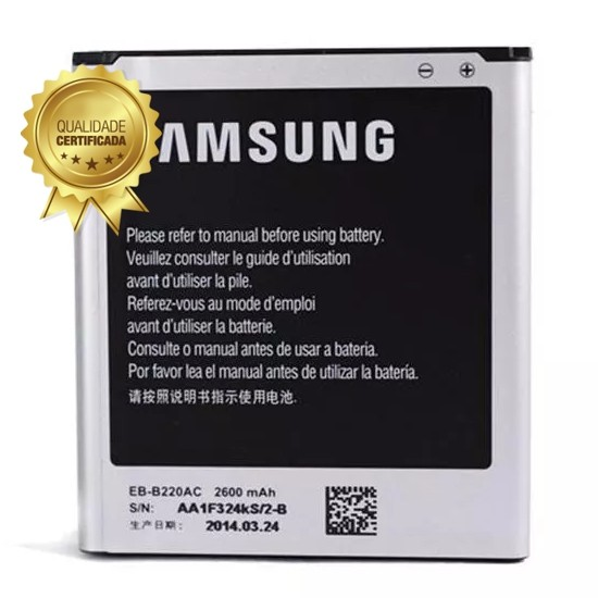 Bateria Samsung Galaxy Gran 2 Duos Sm-G7102 EB-B220 2.600 mAh 1 Linha
