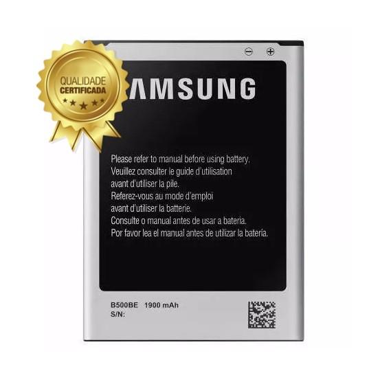 Bateria Samsung Galaxy S4 Mini G-I9192 I9190 I9195 B500 1900Mah 1 Linha