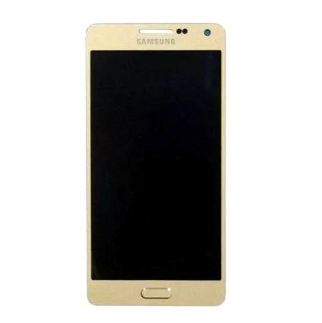 Frontal Samsung A5 SM-A500 Gold Dourado