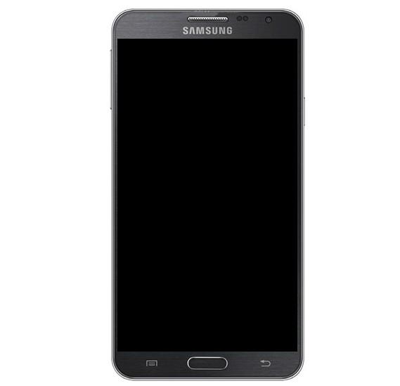 Frontal Samsung Galaxy Note 3 Neo Duos N7502 Preto Com Aro