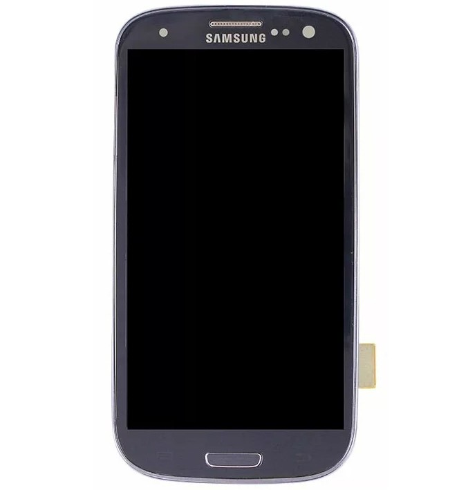 Frontal Samsung S3 4g I9305 Cinza