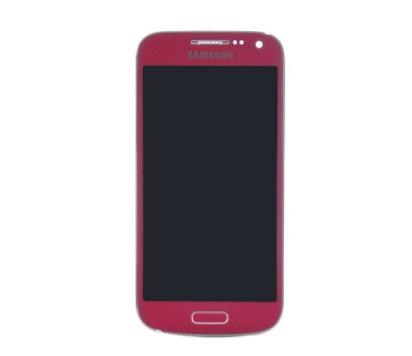 Frontal Samsung S4 Mini Gt-I9191 I9192 Rosa