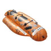 Bóia Banana Boat Inflável Jet Bob Nautika 2 Pessoas