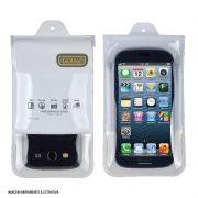Capa Aquática Para Smartphones universal Branco