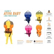 Colete Homologado Infantil Ativa Baby Classe V