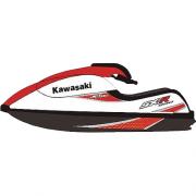 Kit Adesivo Jet Ski Kawasaki SXR 800 2007 Vermelho