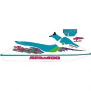 Kit Adesivo  Jet Ski Sea Doo SPX 1995