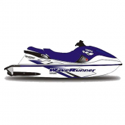 Kit Adesivo Jet Ski Yamaha GP 1200 1998 Azul